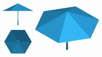 Umbrella Sa Origami Skeleton Support Opening Closing
