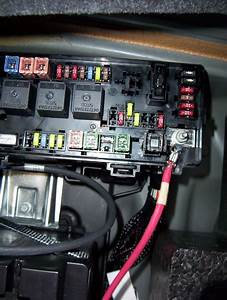 2010 Dodge Journey Interior Fuse Box