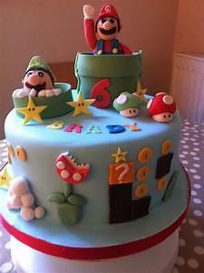 Super Mario Kuchen : super mario cake have your cake and eat it too pinterest motivtorten and torten ~ Frokenaadalensverden.com Haus und Dekorationen