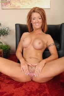 Redhead MILF Devon Sinner Tease And Strip Naked / MILF Fox