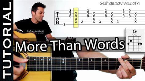 Aprende More Than Words de EXTREME Ritmo y técnica de acompañamiento - YouTube