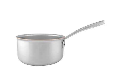 copper coeur sauce pan  cm  qt falk culinair usa