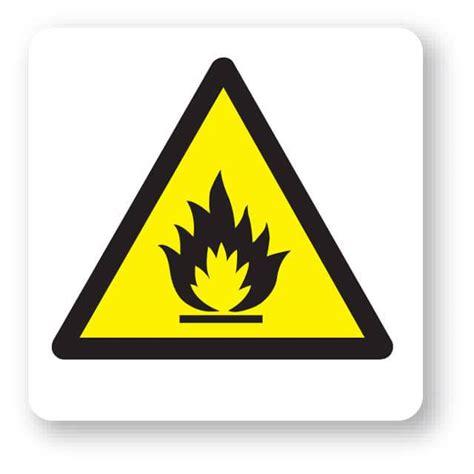 wjp flammable substances symbol sign