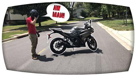 My Motorcycle Broke Down