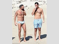 Ricky Martin and fiance Jwan Yosef show off their