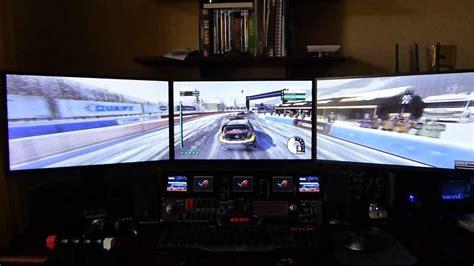 3 Monitor Gaming Setup Using Nvidia Gtx 680 Single Card