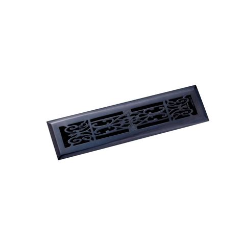 black floor registers home depot zoroufy 2 25 in x 12 in decorative floor register