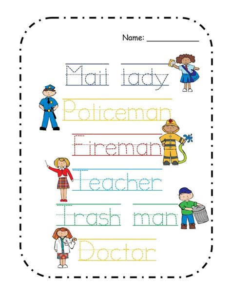 preschool positions images of community helpers yahoo image search results 948
