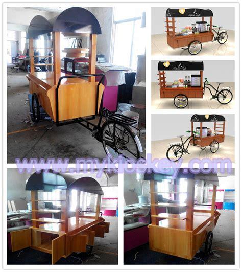 high quality beautiful food cart design  outdoor