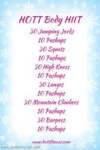 HIIT Cardio Workout Idea