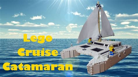 Boat Catamaran Lego by Lego Cruise Catamaran