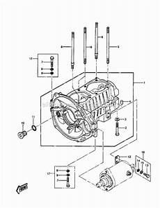 Kawasaki Js550-a6 Parts List And Diagram