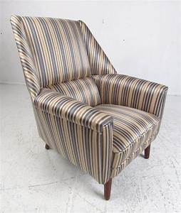 Scandinavian, Modern, Wingback, Lounge, Chair, And, Ottoman, For, Sale, At, 1stdibs
