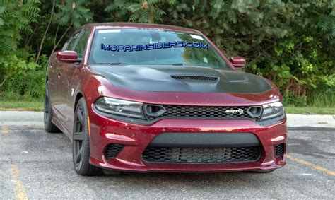 Spotted 2019 Dodge Charger Srt Hellcat On The Streets