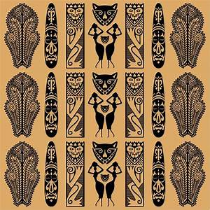 Traditional African Pattern Vector | Free Vector Graphics ...