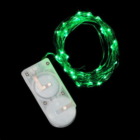 micro led string lights 40 micro led green submersible string light