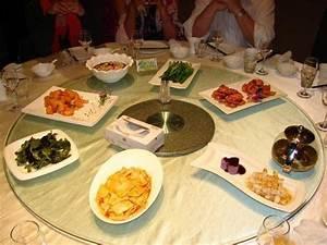 Eckbank Für Runden Tisch : gegessen wird traditionell an einem runden tisch mit drehbarer glasplatte ~ Bigdaddyawards.com Haus und Dekorationen