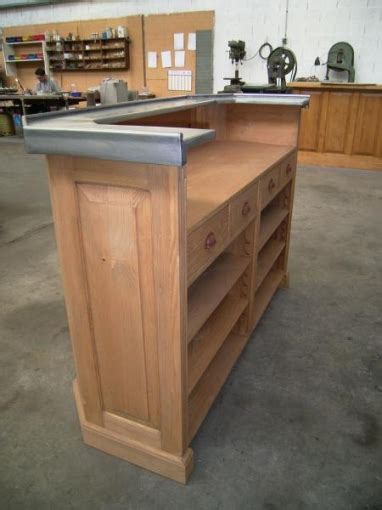 bureau bois massif ancien au bon pin votre meuble de cuisine comptoir ou bar en