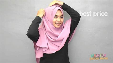 Pasmina Instan Aisha tutorial pashmina instan hamida by aisha
