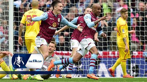 Aston Villa 2-1 Liverpool - FA Cup Semi Final | Goals ...