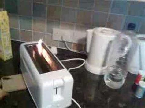 Burning Toaster - burning toaster