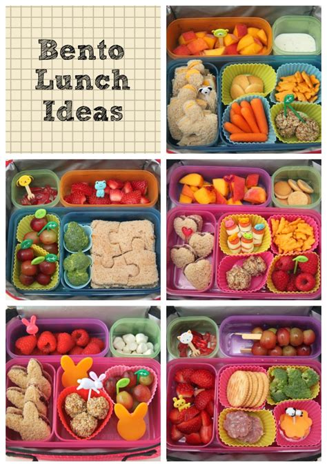 ideas for lunches bento lunch ideas week 1 smashed peas carrots
