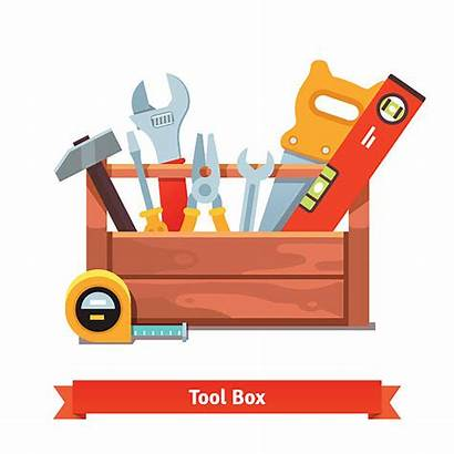 Toolbox Vector Wooden Tool Box Clip Illustration