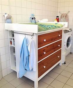 Wickeltisch, HEMNES diaper changing table - IKEA Hackers