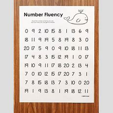 Free Fluency Activities  February  Simply Kinder