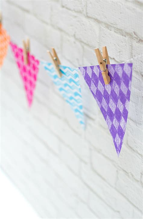 paper banner diy   started  paint