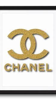 Chanel Gold Glitter