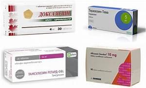 Препараты для лечения аденомы простаты онкология