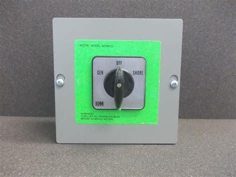 usa universal changeover switchmanual generatorpdt