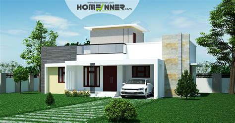 2 Bedroom House Photos by Low Cost 2 Bhk Indian House Design For 971 Sqft