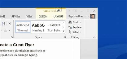 Ribbon Display Options Word Button Excel Restore