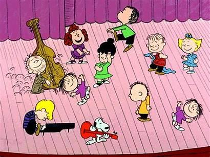 Charlie Brown Christmas Dance Happy Dancing Peanuts