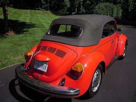 Buy Used 1978 Convertible Karmann Volkswagen Beetle