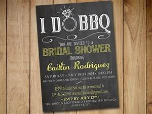 i do bbq bridal shower invitation template chalkboard With i do bbq wedding invitations templates