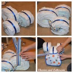Homemade Diaper Cakes Baby Showers