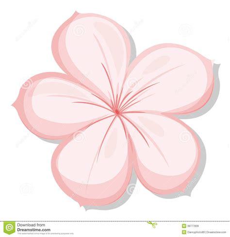 fiore clipart un fiore di rosa cinque petalo illustrazione
