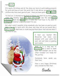santa letter images santa letter