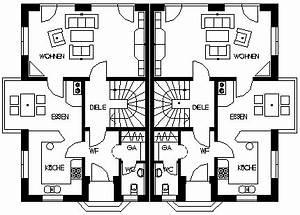Schmale Häuser Grundrisse : grundrisse f r doppelhaush lften kleingartenhaus pinterest haus haus pl ne und grundriss ~ Indierocktalk.com Haus und Dekorationen