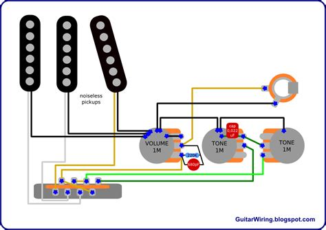American Deluxe Strat Wiring Diagram by The Guitar Wiring Diagrams And Tips American