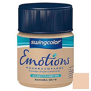 Swingcolor Wohnraumfarbe Emotions (sahara, 2,5 L, Matt