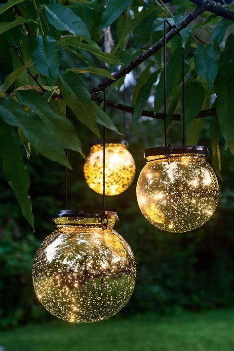 outdoor christmas globe lights solar globe lights fairy dust ball gardeners com