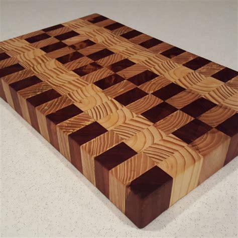cutting board designer multi wood end grain cutting board blair wrye designs