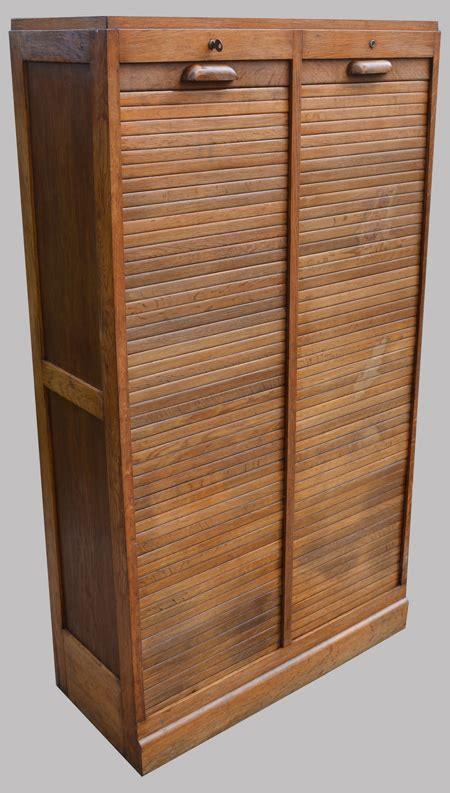 meuble de rangement bureau à rideau panneau coulissant classeur meuble de bureau classeur à rideau 2 colonnes