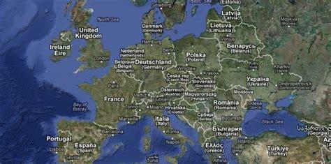 Carte Europe Et Ses Capitales by Carte De L Europe Et Ses Capital