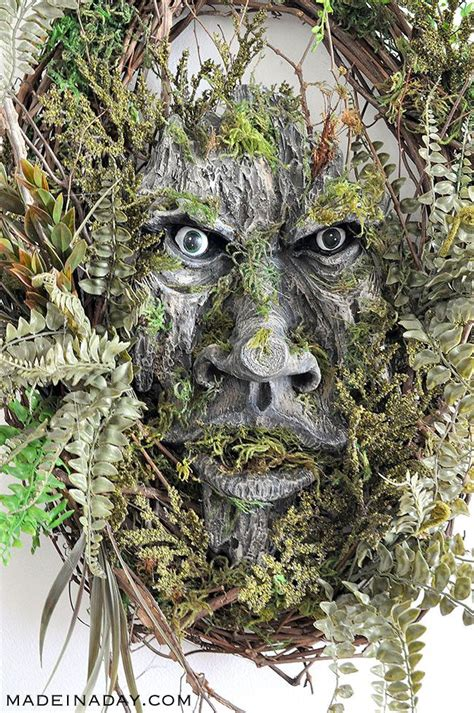 diy tree face  sticks  twigs  halloween google