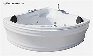Große Eckbadewanne Für 2 Personen : whirlpool badewanne karibik basic runde badewanne vergleich ~ Indierocktalk.com Haus und Dekorationen